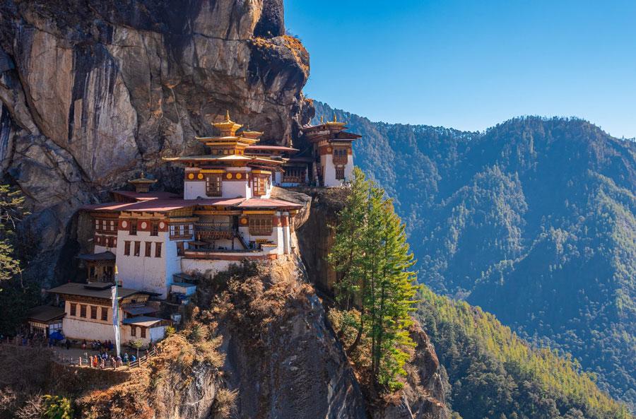 Tu viện Tiger's Nest ở Bhutan - lên kế hoạch để tới điểm đến yêu thích giúp bạn bình an trong đợt giãn cách xã hội